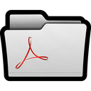 acrobat, adobe, folders, pdf, reader, folder icon