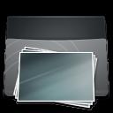 Black Folder Pictures icon