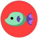 fish, summer, sea, animals icon