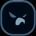 Falcon, Flat, Mobile icon