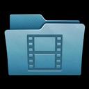 Folder, Mac, Movies icon