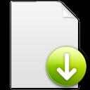 descend, descending, file, fall, document, decrease, paper, down, download icon