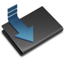 folder, downloads icon