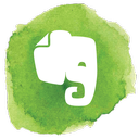 social, social media, elephant, evernote icon