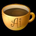 Coffee, Illustrator icon