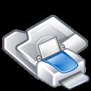 printer, folder, print icon