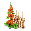 plant, flower, network icon