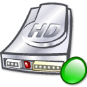 hard drive, hdd, hard disk, mount icon