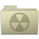 Burnable Folder Ash icon