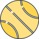 Sports Tennis ball icon