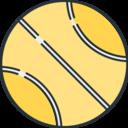 Sports Tennis ball icon