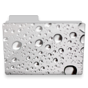 water drops folder icon