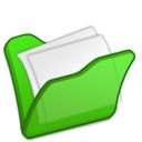 folder,green,mydocument icon