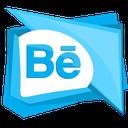 social, media, behance, portfolio, logo icon