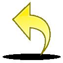 undo, edit, writing, reset, write, return icon