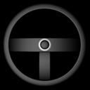 wheel, steering icon