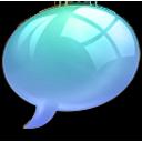 offline online Light Blue icon