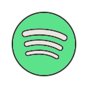 image, web, home, internet, spotify, group, app icon