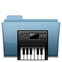 folder, music, alt icon