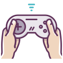 network, appliance, gamepad, hands, game, play, electronics icon