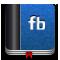 facebook, book icon