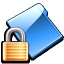 folder, lock, security, locked icon