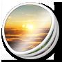 Photos, Round icon