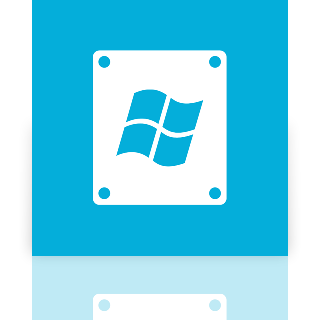 mirror, window, drive icon