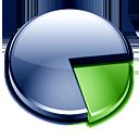 chart, pie, graph, analytics icon
