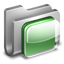 iOS Metal Folder icon