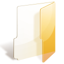 yellow, folder icon