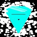 Rave Diamond blue icon