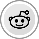 corporate, social, media, reddit, logo icon