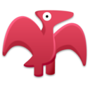 pterodactyl,dinosaur,cartoon icon
