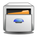 system,file,manager icon