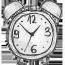 clock, time, alarm, history icon