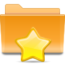 favorite, bookmark, folder, star icon