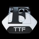 Misc file ttf icon