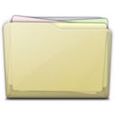 beige folder docs alt icon