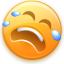 smiley, cry icon