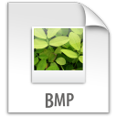 bmp, file, document, paper icon