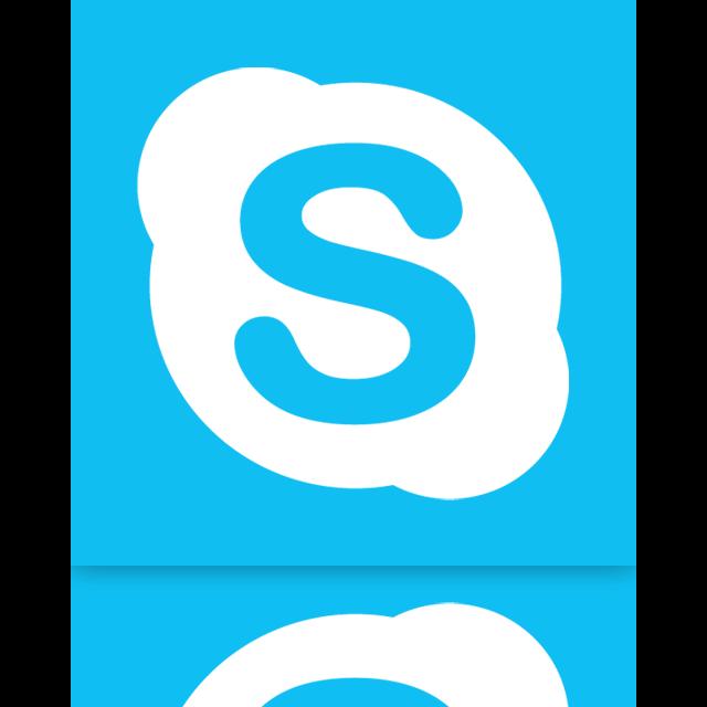 mirror, skype icon