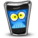mobile phone, smartphone, afraid, iphone, cell phone icon