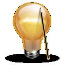 tips, idea, design, webdesign icon