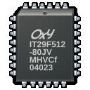 microchip, processor icon