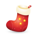 Xmas stocking icon