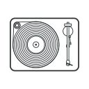 play, music, player, music player, vinyl, audio, sound icon