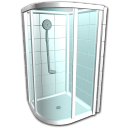 Shower stall icon