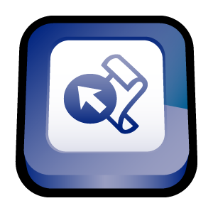 microsoft, frontpage, office icon