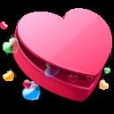 valentine, heart, love, favorite icon